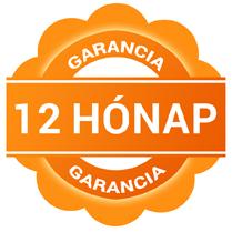 A képen a 12 hónap garancia ábrája látható.