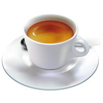 A képen egy krémes, valódi olasz espresso látható.